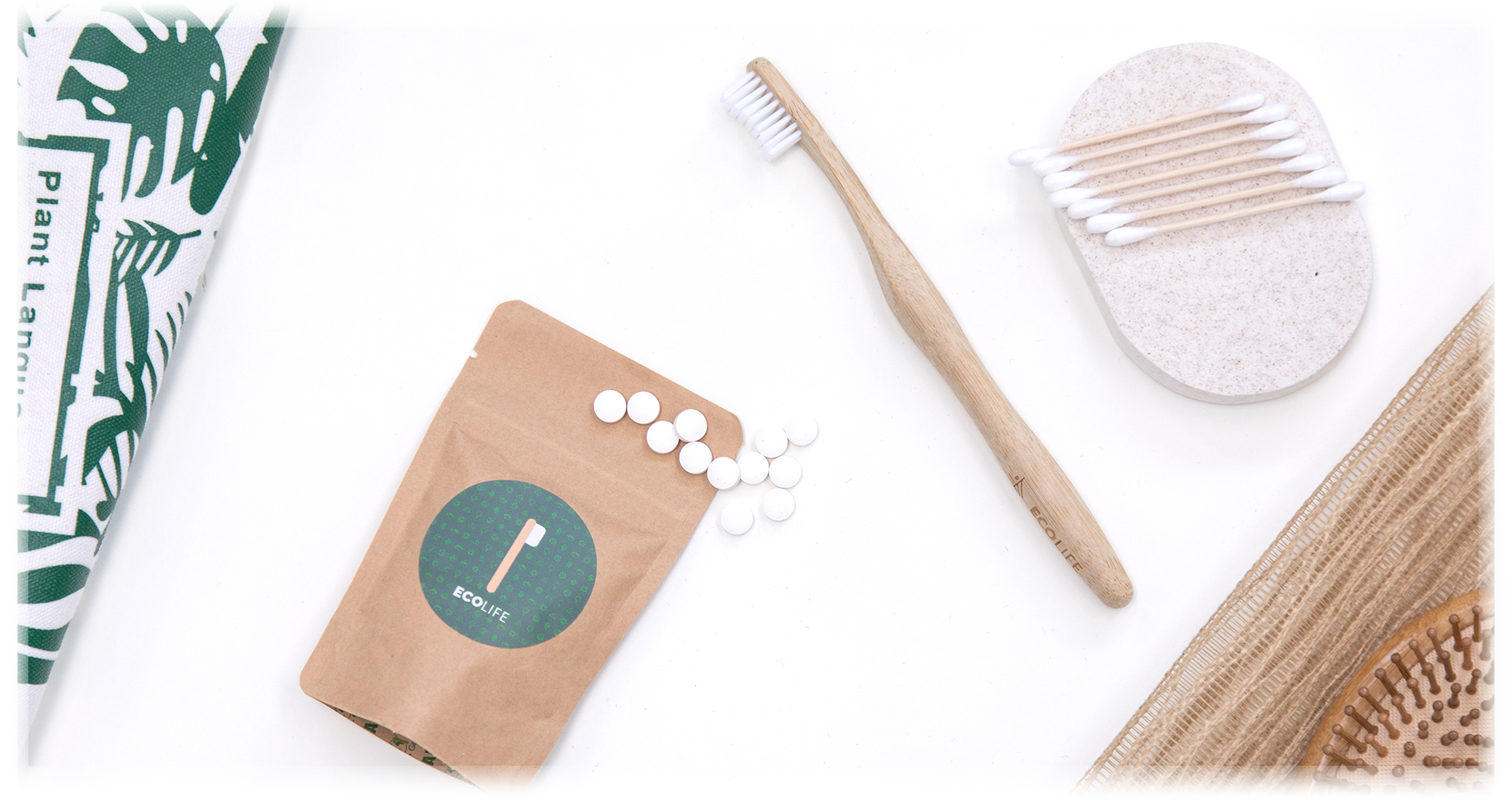 Ecolife Bamboo Toothbrush Main Banner
