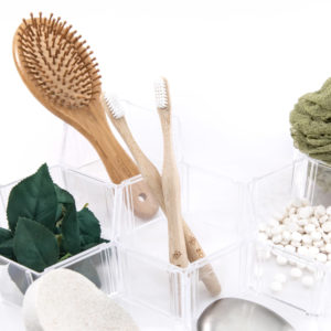 Bamboo Toothbrush flatlay